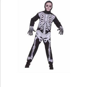 Other - Child Skeleton Halloween Costume Size Medium 8-10